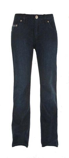 Pantalón Jeans Mujer Bull-it SR6 Italizan Boot Cut. Indigo Stretch denim azul efecto lavado, 98% algodón, 2% de exterior elástico. Diseño tradicional con 5 bolsillos. Pinza en las rodillas para  un mejor ajuste. Protector UV de laminado interior.Acabado repelente al agua.