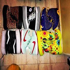 Not your normal teenager... Nike, Converse, Vans...