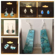 Sterling silver, genuine Zuni-crafted jewelry featuring turquoise, lab opal, onyx, and coral! #NativeAmerican #Zuni #NativeAmericanCrafted #NativeAmericanJewelry #ZuniCrafted #ZuniJewelry #AmericanIndian #NewMexico #Arizona #genuine #authentic #artisans #turquoise #SterlingSilver #onyx #opal #WhiteBuffalo #GenuineStone #Gemstones #jewelry #earrings