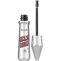 Benefit Gimme Brow Volumising Eyebrow Gel ($25) ❤ liked on Polyvore featuring beauty products, makeup, eye makeup, make, benefit cosmetics, eyebrow cosmetics, benefit eye makeup, eyebrow makeup and brow makeup