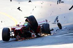 Felipe Massa Ferrari Monaco 2013