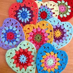 Anabelia craft design: 12 Free pattern crochet projects for Valentine's Day