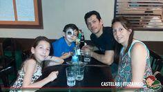 Sábado por la noche disfrutando todos juntos en Lo de Carlitos Castelar / Ituzanigo!!! Gracias amigos por venir !!!