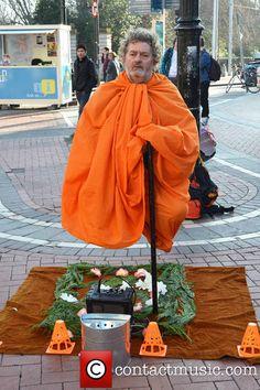 The Levitating Man in Dublin.