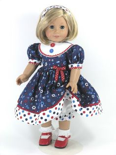 Handmade Doll Clothes fit CHELSEA DARIN 2pc Christmas Gingerbread Man NO DOLL