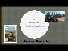 Ls 17 Von Null zum Mega Farmer #1 Farmer, Amazon, Youtube, Riding Habit, Homesteads, Youtubers, Youtube Movies