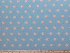 Jersey Stoff hellblau Sterne   Etsy Light Blue Background, Write To Me, Kids Rugs, Etsy, Fabric, Delivery, Free Shipping, Products, Light Blue