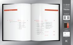 thesis web design review