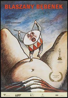 DIE BLECHTROMMEL aka THE TIN DRUM (Dir. Volker Schlöndorff, 1979) - Polish poster