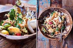 Recipe Excerpt: Gorgeous Gado-Gado from Jamie's Comfort Food (+ Giveaway! Jamie Oliver, Asian Recipes, Healthy Recipes, Ethnic Recipes, Gado Gado Recipe, Chickpea Coconut Curry, Curry Dishes, Salad Ingredients, International Recipes
