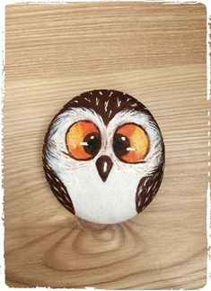 Owl painted Rock Owl painted Rock The post Owl painted Rock appeared first on Best Pins. Painted Rocks Owls, Owl Rocks, Painted Rock Animals, Painted Pebbles, Pebble Painting, Pebble Art, Stone Painting, Pebble Stone, Rock Painting Ideas Easy
