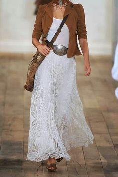 Ralph Lauren lace skirt
