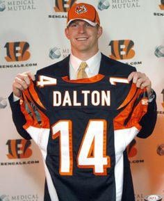 Sports-Football-Cincinnati Bengals-Andy Dalton Rookie Stud Cincinnati  Bengals 10d5d179b