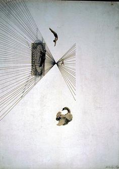 Lazlo Maholy-Nagy, Leda and the Swan (1925)
