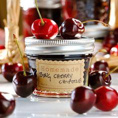 JULES FOOD...: Sweet Bing Cherry Chipotle Preserves