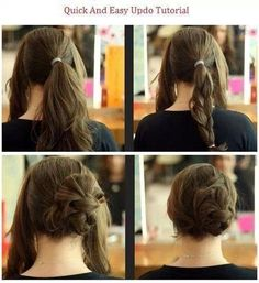 Excellent 1000 Images About Hairstyles Casual Or Dressy On Pinterest Hairstyles For Women Draintrainus