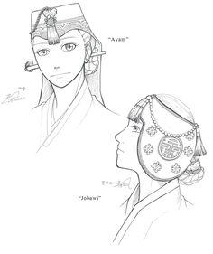 Hanbok, Women's Hats For Winter by Glimja on deviantART