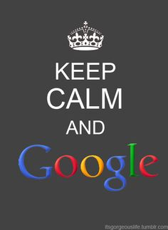 Google - the best solution to any problem :-bd
