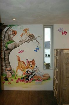 Baby girl room ideas -When we possess a baby girl, our company always would like to offer her the greatest atmosphere for their growing opportunity Disney Baby Rooms, Disney Bedrooms, Disney Nursery, Kids Room Murals, Wall Murals, Baby Room Design, Wall Design, Baby Bedroom, Kids Bedroom
