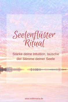 Stärke deine Intuition und lerne der Stimme deiner Seele zu vertrauen. Worksheet und Anleitung findest du zum download in meiner Ressourcen Bibliothek. Intuition, Mental Training, Yoga Meditation, Motivation, Movies, Magic, Beauty, Abundant Life, Self Confidence