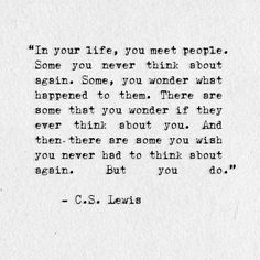 My favorite C.S. Lewis quote