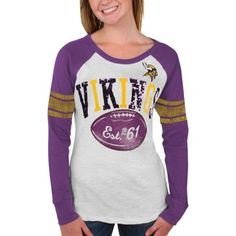 Minnesota Vikings Ladies Long Sleeve Thermal
