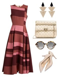 """""""Garden party"""" by agathachantalou on Polyvore featuring Roksanda, Valentino, M. Gemi and Toolally Roksanda, Valentino, Shoe Bag, Garden, Party, Polyvore, Stuff To Buy, Shopping, Collection"""
