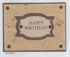 Masculine Birthday http://vegasgems.blogspot.com/2017/01/masculine-birthday.html