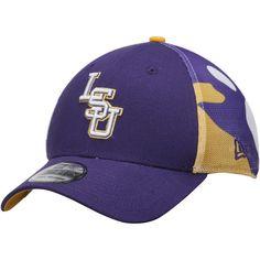 LSU Tigers New Era NCAA Logo Wrapped 39THIRTY Flex Hat - Purple - $26.99