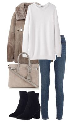 """""""Untitled #2386"""" by elenaday ❤ liked on Polyvore featuring Acne Studios, Yves Saint Laurent and Zimmermann"""