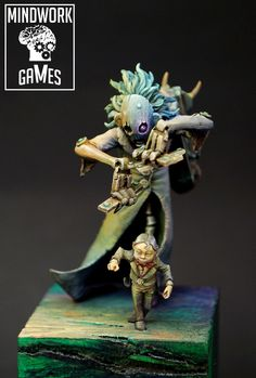 We do prints, sculpt, resin cast, paint miniatures and crowdfunding manager Creature Concept Art, Creature Design, Warhammer Paint, Dark Eldar, Shadow Of The Colossus, Cool Monsters, Fantasy Races, Fantasy Miniatures, 3d Prints