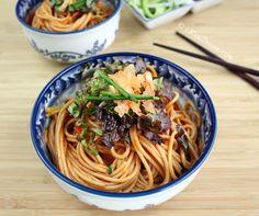 Bibim Guksu (Korean Sweet and Spicy Cold Noodles)