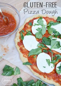 Recipe: Gluten-Free Pizza Dough - Family Gone Healthy