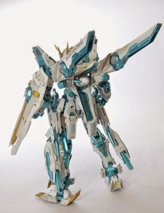 GUNDAM GUY: MG 1/100 GNA-X000 Gundam Speranza - Custom Build