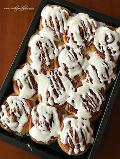 CINNAMON-ROLLS-THERMOMIX Best Banana Bread, Doughnut, Smoothies, Deserts, Sweets, Cookies, Relleno, Food, Cinnamon Scones