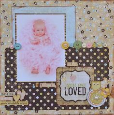 Simple Stories-Baby Layout