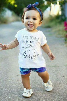 She is fierce!