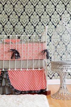 Custom Crib Bedding  Lost and Found Vintage by LottieDaBaby, $395.00