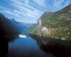 Cruiser Costa Atlantica Costa Atlantica, Norway, North America, Ship, River, World, Cruises, Outdoor, Image