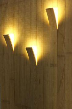 Waanzinnig!! Hoe is dit gedaan? Schitterende sfeer verlichting, verwerkt in muur met het hout....wauw...