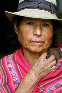 Quechua woman, Sucre, Bolivia