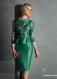 2019 New Mother of the Bride Dresses Jewel Sleeve Lace Satin Evening Gowns Prom Wear Knee-Length Formal Wedding Guest Dress Club Dresses, Sexy Dresses, Short Dresses, Prom Dresses, Bride Dresses, Petite Dresses, Short Mothers Dress, Mothers Dresses, Formal Wedding Guests