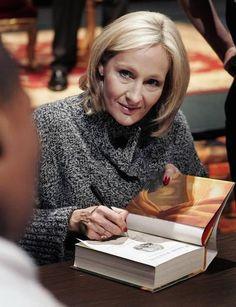 JK Rowling...