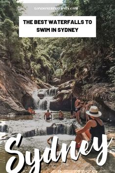 16 best waterfalls in Sydney to swim in. You'll find a Sydney waterfalls map so you'll know how to find these amazing wild swimming spots in Sydney! Hiking in Sydney Coast Australia, Visit Australia, Sydney Australia, Australia Trip, Western Australia, Brisbane, Melbourne, Perth, Cairns