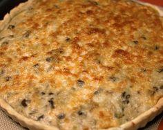 Κις με μανιτάρια και τυρί Quiche, Macaroni And Cheese, Breakfast, Ethnic Recipes, Food, Food And Drinks, Mac Cheese, Morning Coffee, Meal
