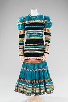 Dress, Evening: Giorgio di Sant'Angelo, American, ca. 1975