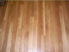 Red Oak hardwood floor with natural stain (Will be in kitchen, great room, foyer, and dining room)