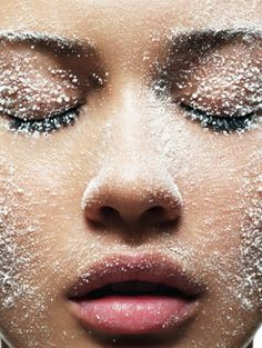 #element #water #ice #makeup #make #up #look #inspiration