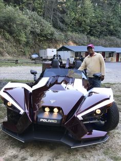 Dragon Tail #Slingshot Slingshot Car, Polaris Slingshot, Three Wheel Motorcycles, Bmw Motorcycles, Tricycle, Weird Cars, Cool Cars, Go Kart Buggy, Dragon Tail
