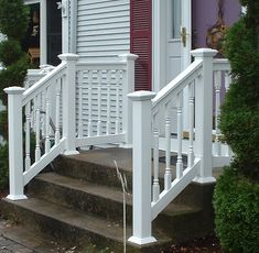 High Quality Of Maintenance Free Vinyl And Aluminum Stair, Porch And Deck Railings .